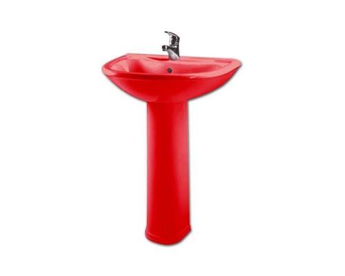 Оскольская керамика Престиж раковина красная