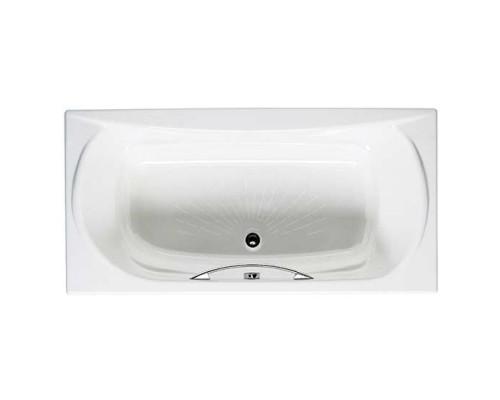 Roca Akira 170x85 ванна чугунная ручки