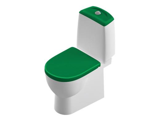 Sanita Luxe Бест зеленый унитаз с микролифтом